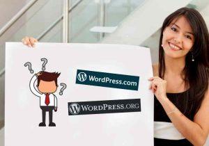 Qual é a diferença entre o WordPress.com e o WordPress.org?