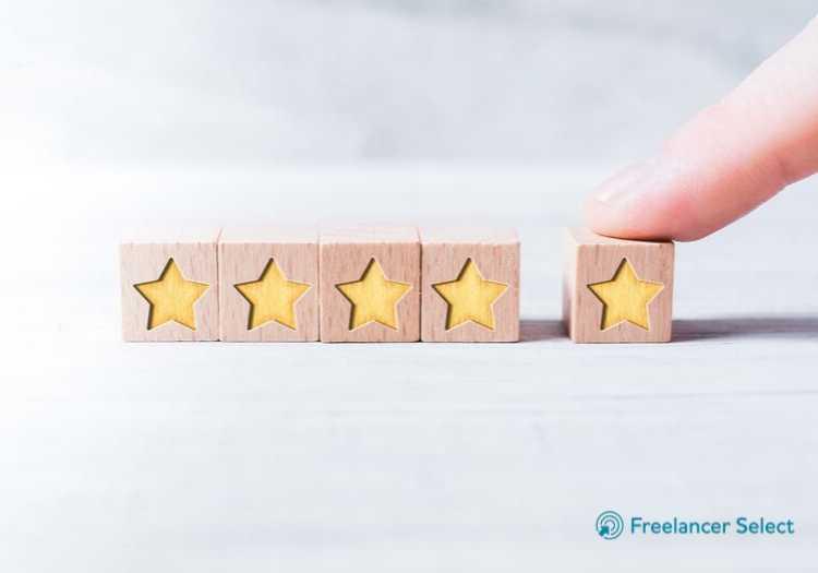 No próprio site da Freelancer Select você encontra avaliações dos serviços prestados anteriormente.