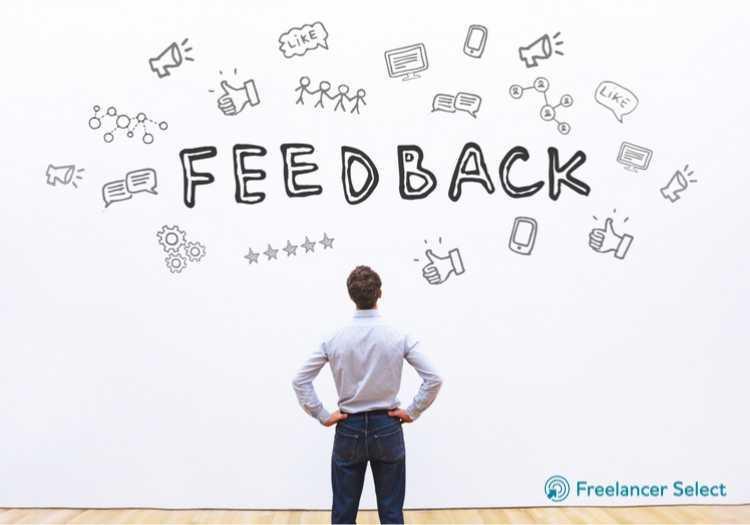 Feedback freelancer select